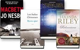 bestselger bøker norge