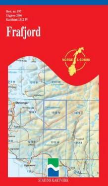 frafjord kart Frafjord (Kart, falset)   Turkart   Bestselgerklubben frafjord kart