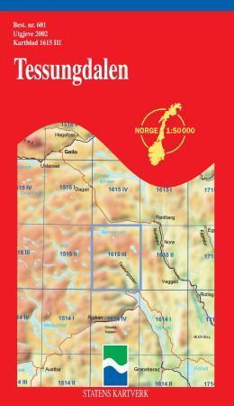 tessungdalen kart Tessungdalen (Kart, falset)   Turkart | Bestselgerklubben tessungdalen kart