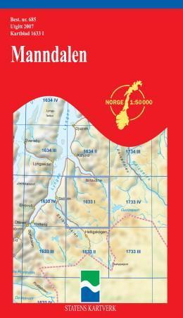 Manndalen Kart Falset Turkart Bestselgerklubben