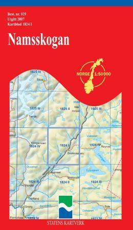 namsskogan kart Namsskogan (Kart, falset)   Turkart | Bestselgerklubben namsskogan kart