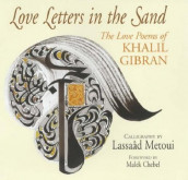 Love letters in the sand av Kahlil Gibran (Innbundet)