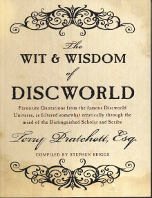The wit and wisdom of Discworld av Terry Pratchett (Heftet)