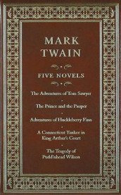 Five novels av Mark Twain (Innbundet)