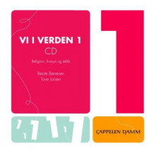Vi i verden 1 CD av Beate Børresen (Lydbok-CD)