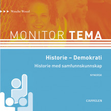 Monitor Tema Historie - Demokrati CD av Wenche Wessel (Lydbok-CD)