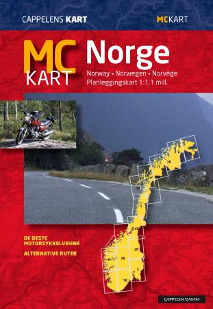 mc kart norge MC kart Norge (Kart, falset)   Norge   Bestselgerklubben mc kart norge