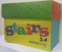 Stairs 3+4 Activity Cards av Heidi Håkenstad (Eske)