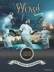 Wow! av The Flying Culinary Circus (Innbundet)