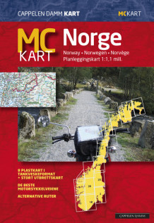 MC-kart Norge / MC-map Norway (Kart, plano)