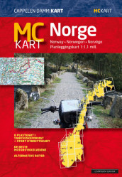 MC - kart Norge 2019 / MC - map Norway 2019 (Kart, falset)
