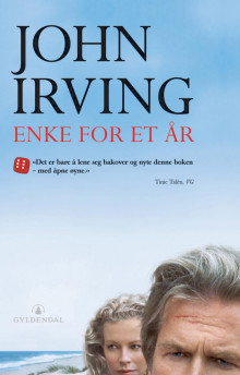 Enke for et år av John Irving (Heftet)