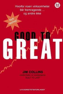 Good to great av Jim Collins (Innbundet)