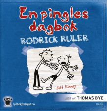 Rodrick ruler av Jeff Kinney (Lydbok-CD)