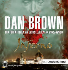 Inferno av Dan Brown (Lydbok-CD)