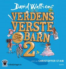 Verdens verste barn 2 av David Walliams (Lydbok-CD)