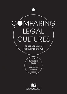 Comparing legal cultures (Heftet)