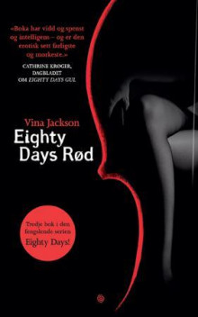 Eighty days rød av Vina Jackson (Ebok)