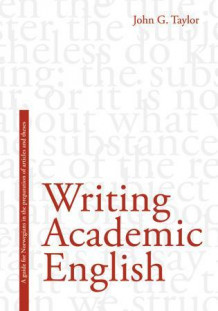Writing academic English av John G. Taylor (Heftet)