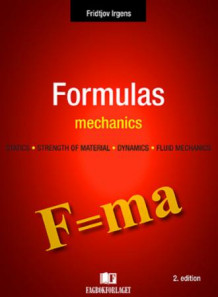 Formulas in mechanics av Fridtjov Irgens (Heftet)