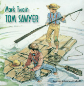 Tom Sawyer av Mark Twain (Lydbok-CD)