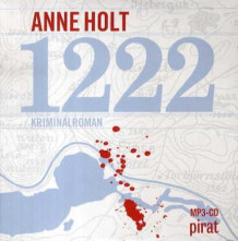 1222 av Anne Holt (Lydbok MP3-CD)