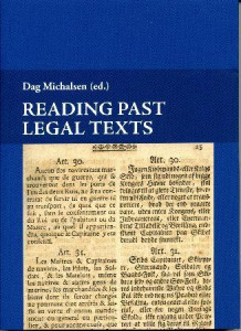 Reading past legal texts (Heftet)