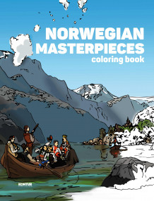 Norwegian masterpieces. Coloring book (Andre trykte artikler)